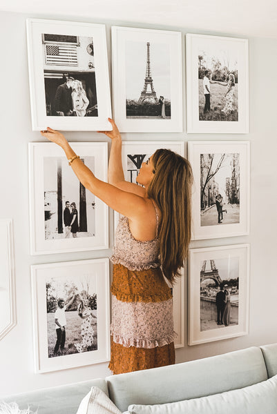 Gallery wall by A Mix of Min