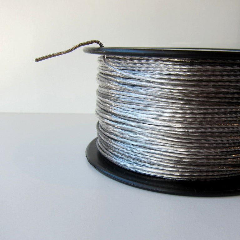 No. 5 Vinyl Coated Stainless Wire 500ft