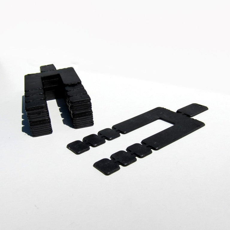 Plastic Shims - 1/16 inch thick - 16 pieces