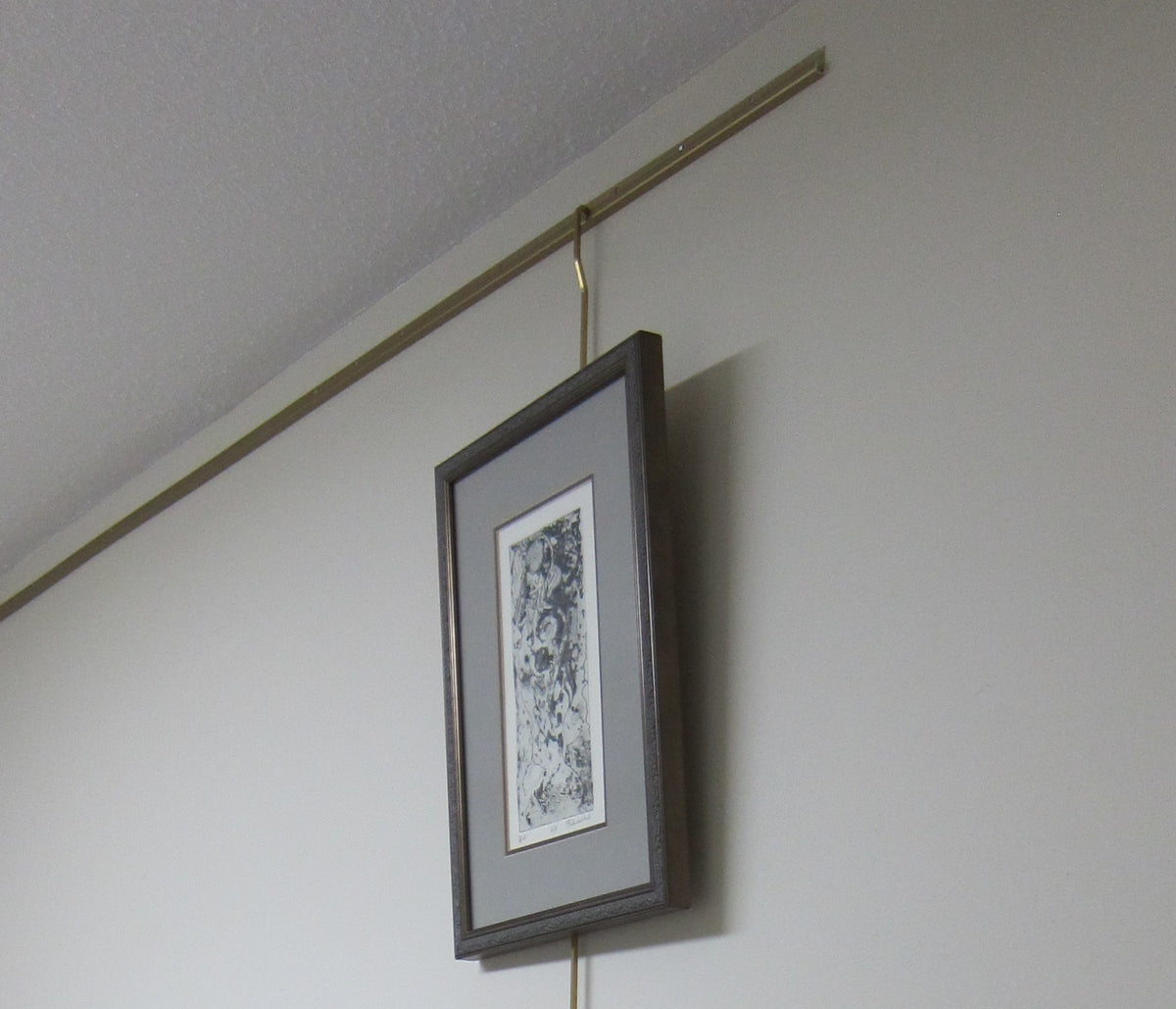 Brass Gallery Rod 5 Foot