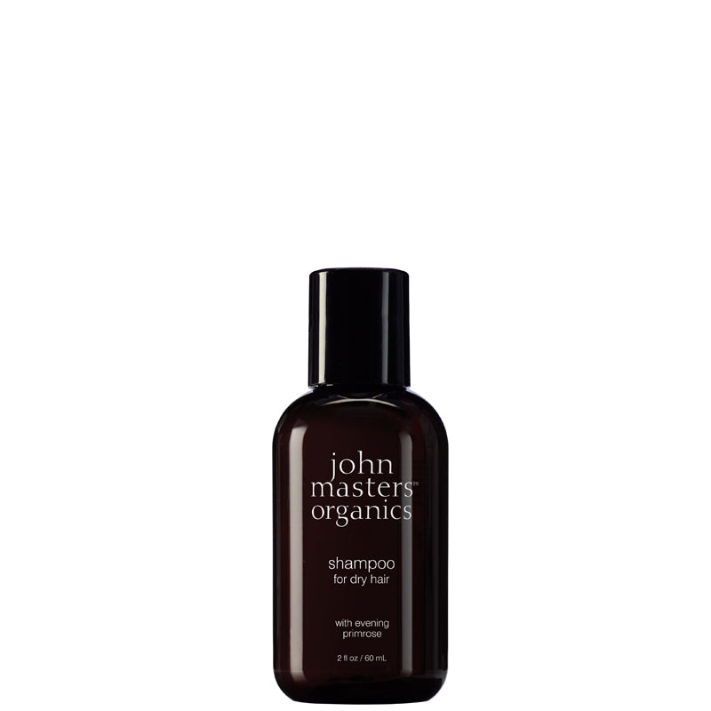 John Masters Organics Shampoo for Dry Hair with Evening Primrose Travel Size 60ml