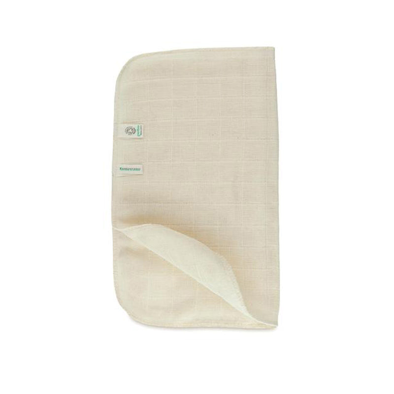 Alucia Organics Organic Cotton Muslin Face Cloth
