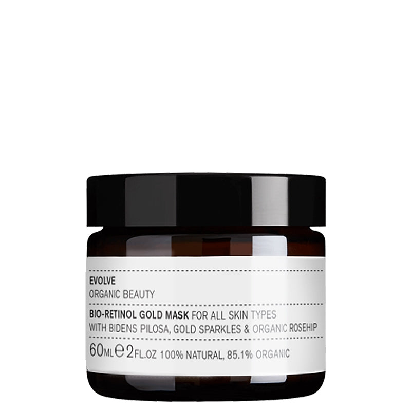 Evolve Organic Beauty Bio-Retinol Gold Mask