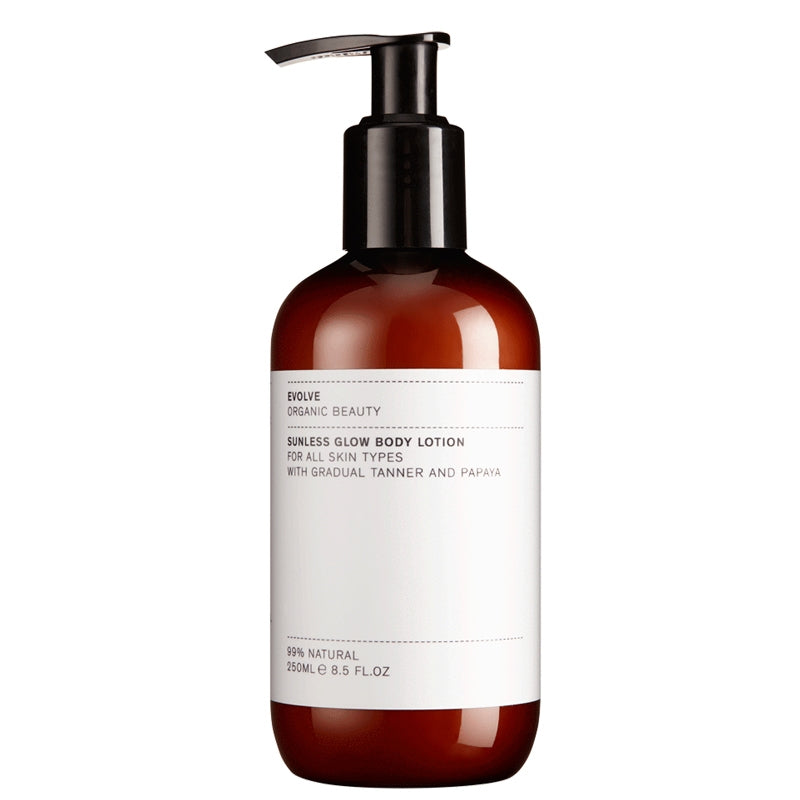 Evolve Organic Beauty Sunless Glow Body Lotion