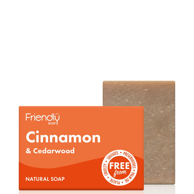 Friendly Soap Cinnamon & Cedarwood Soap Bar