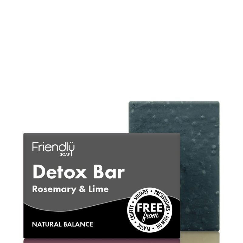 Friendly Soap Detox Charcoal Soap Bar
