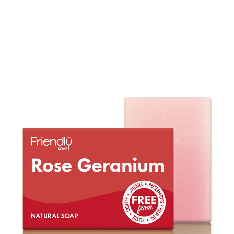 Friendly Soap Rose Geranium Soap Bar
