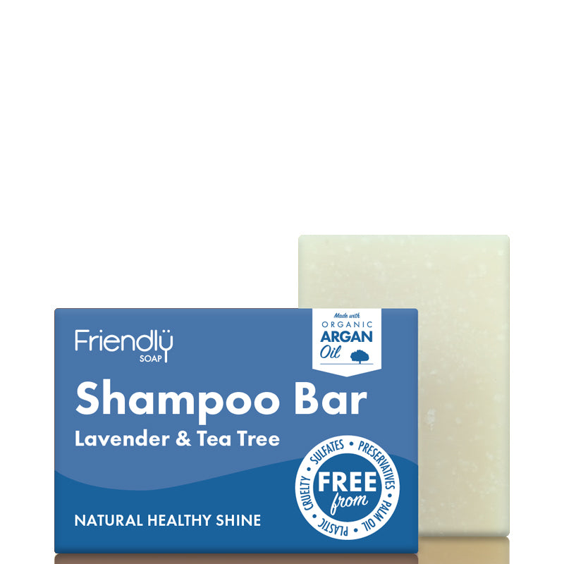 Friendly Soap Shampoo Bar Lavender & Tea Tree