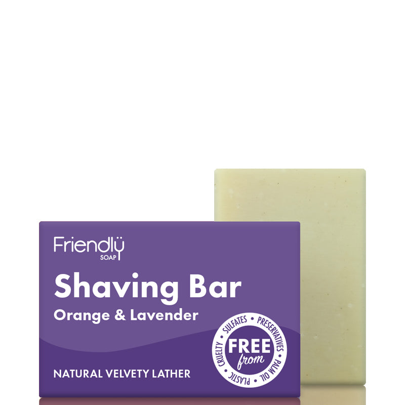 Friendly Soap Shaving Soap Bar