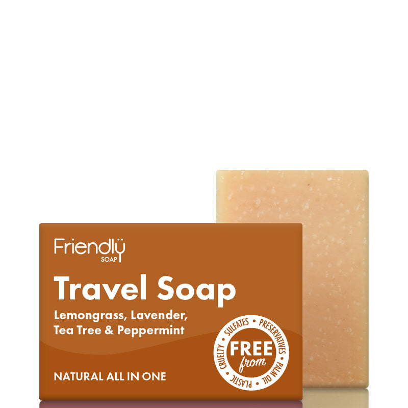 Friendly Soap Travel Soap Bar Hair & Body