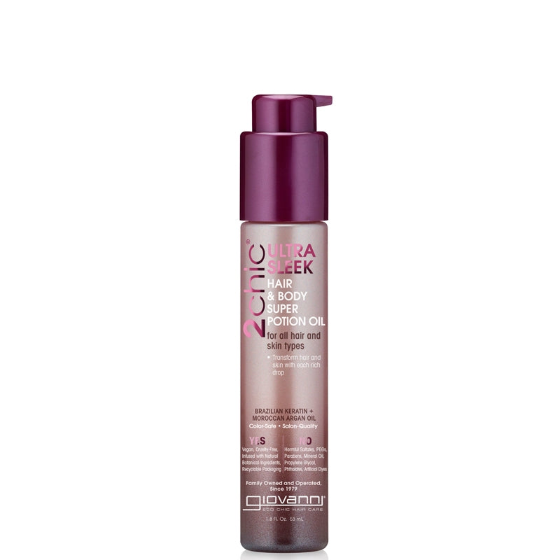 Giovanni 2chic Ultra-Sleek Hair & Body Super Potion Oil