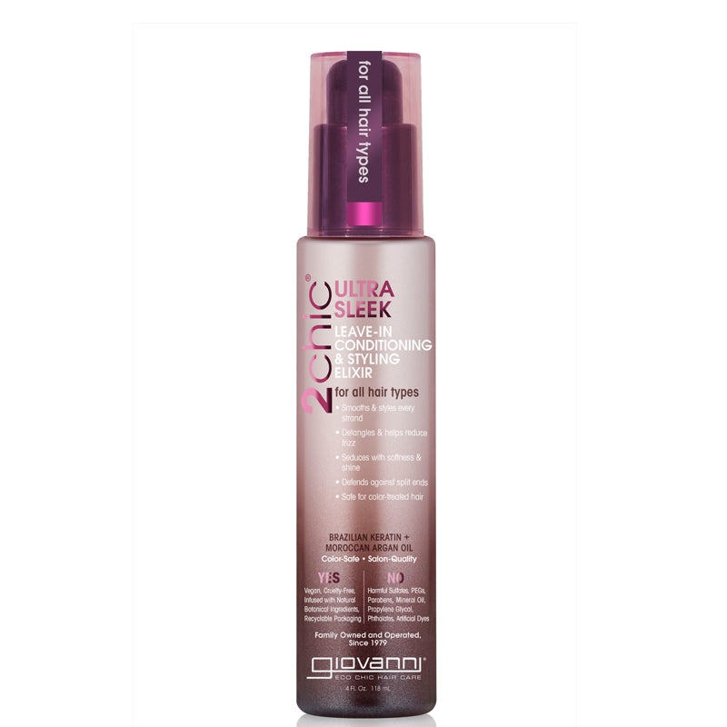 Giovanni 2chic Ultra-Sleek Leave-In Conditioning & Styling Elixir