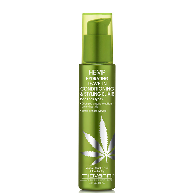 Giovanni Hemp Hydrating Leave-in Conditioning & Styling Elixir