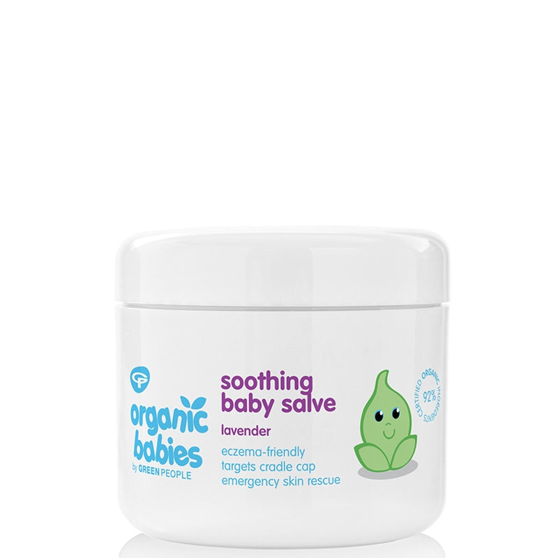 Green People Organic Babies Soothing Baby Salve Lavender