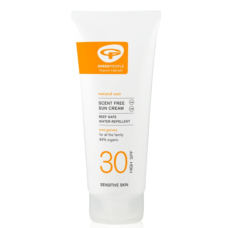Green People Scent Free Sun Cream SPF30