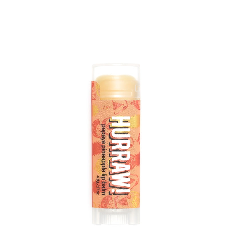 Hurraw Papaya Pineapple Lip Balm