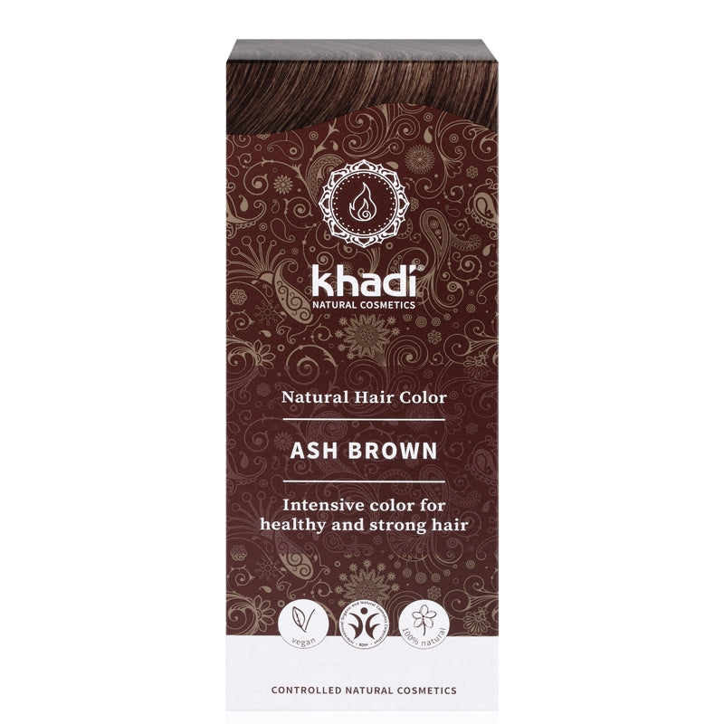 Khadi Natural Hair Colour Ash Brown