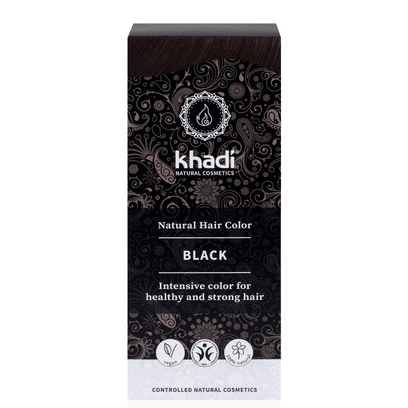 Khadi Natural Hair Colour Black