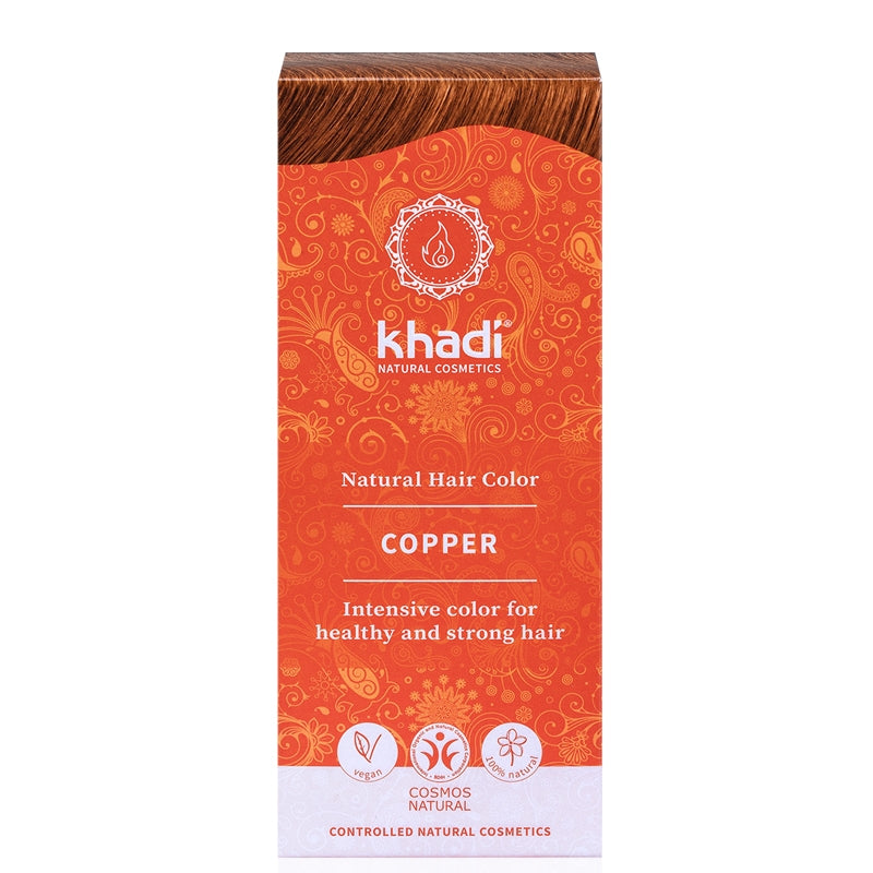Khadi Natural Hair Colour Copper