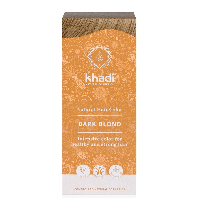 Khadi Natural Hair Colour Dark Blonde