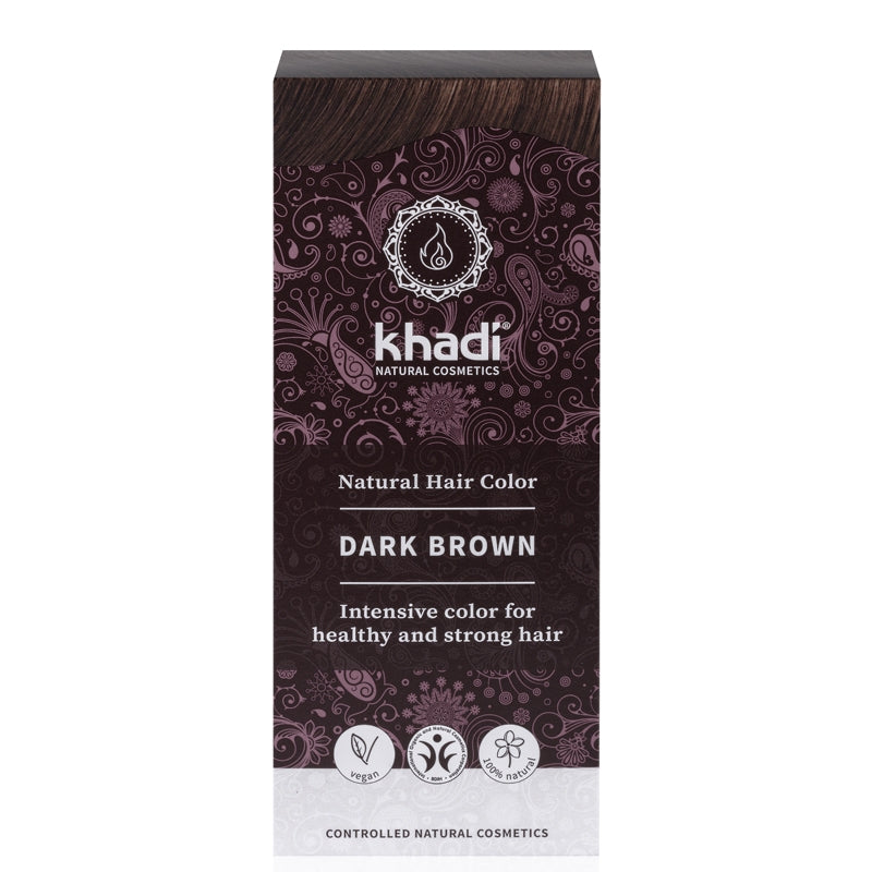 Khadi Natural Hair Colour Dark Brown