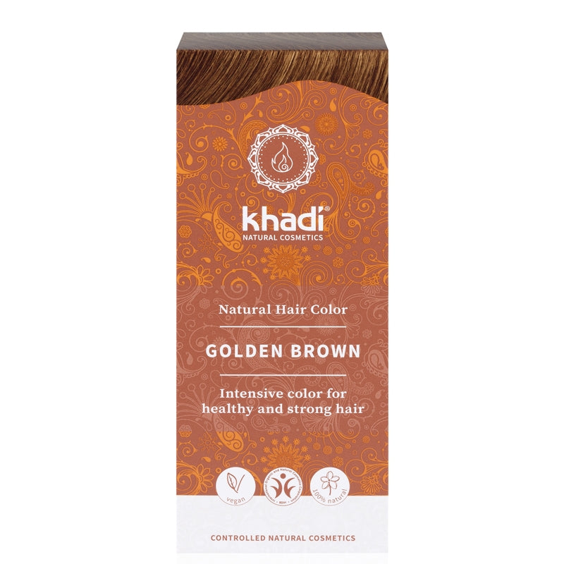 Khadi Natural Hair Colour Golden Brown