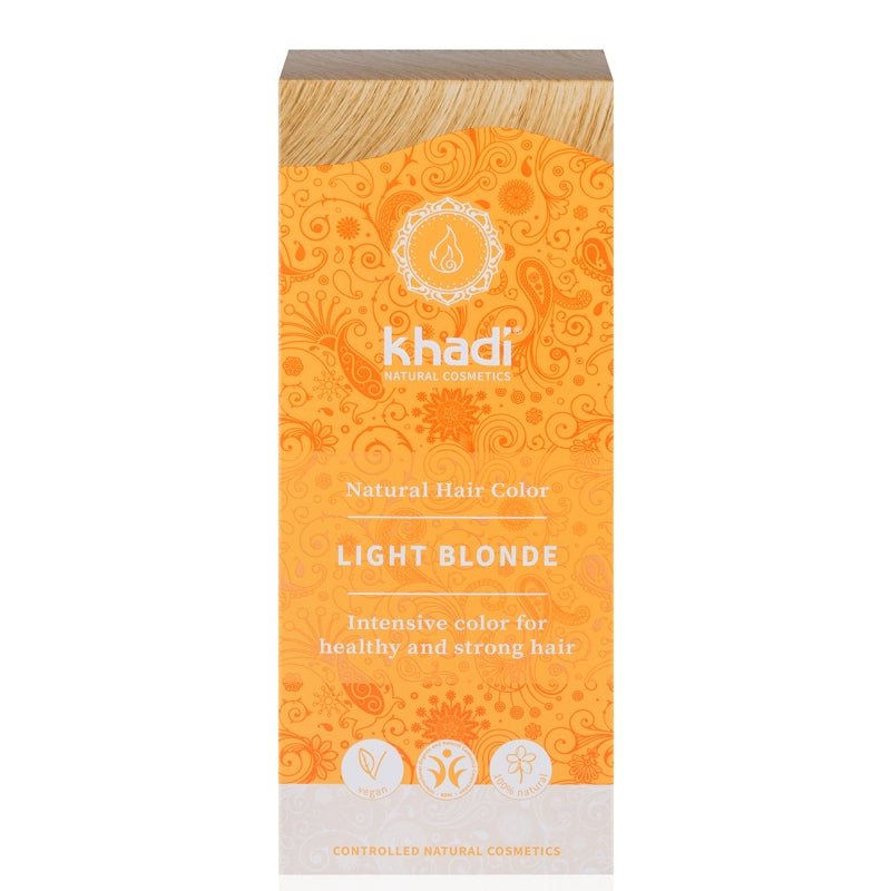 Khadi Natural Hair Colour Light Blonde