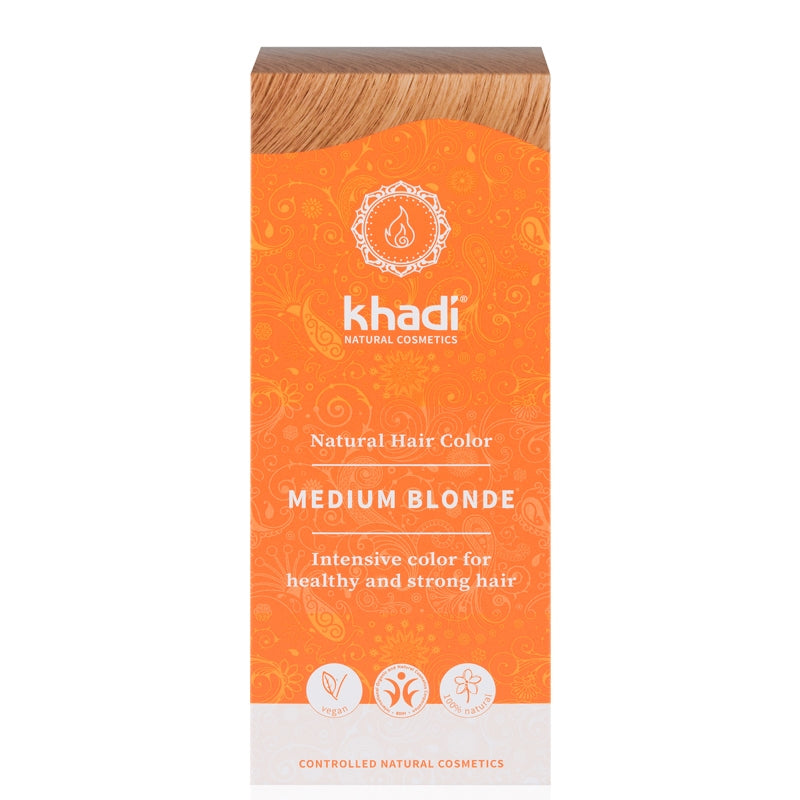 Khadi Natural Hair Colour Medium Blonde