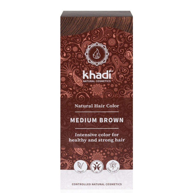 Khadi Natural Hair Colour Medium Brown