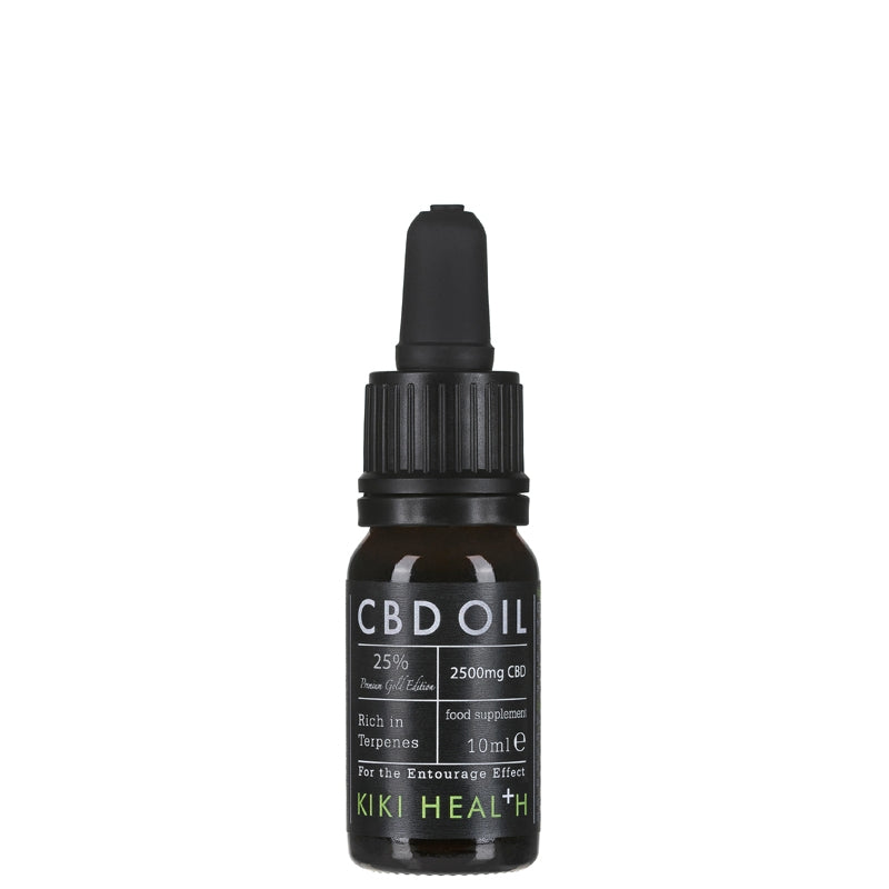 KIKI Health CBD Oil Gold Edition 2500mg