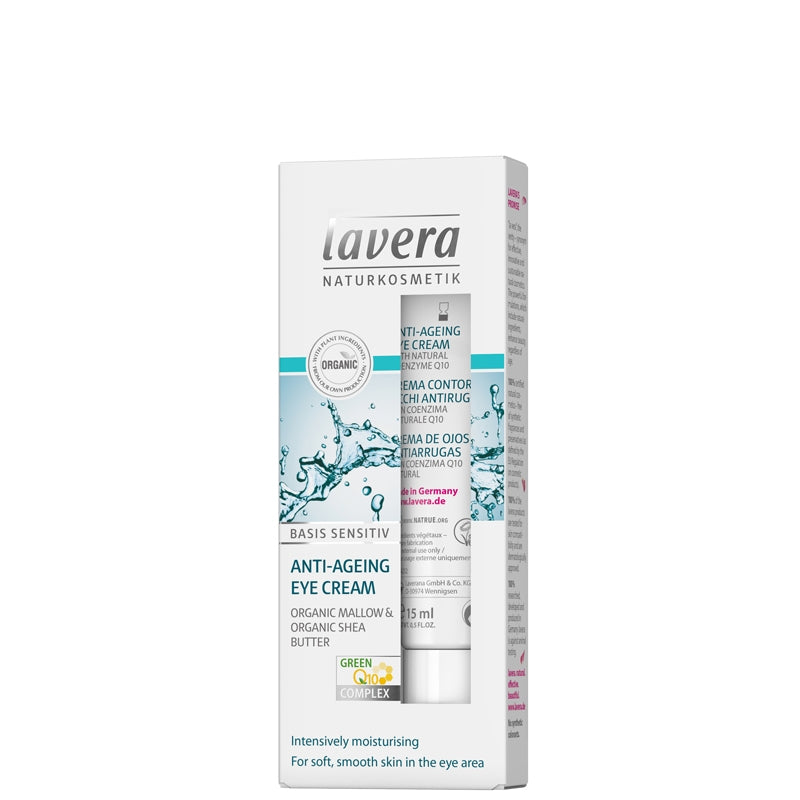 Lavera Basis Sensitiv Anti-Ageing Eye Cream Q10