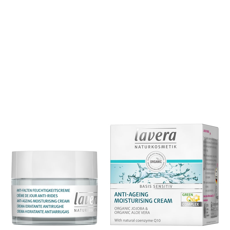 Lavera Basis Sensitiv Anti-Ageing Moisturising Cream Q10