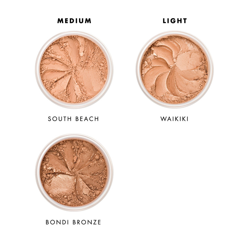 Lily Lolo Mineral Bronzer Shade Guide