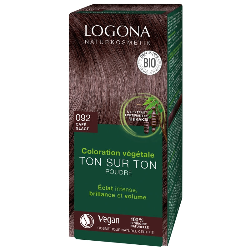 Logona Herbal Hair Colour Powder Reddish Brown