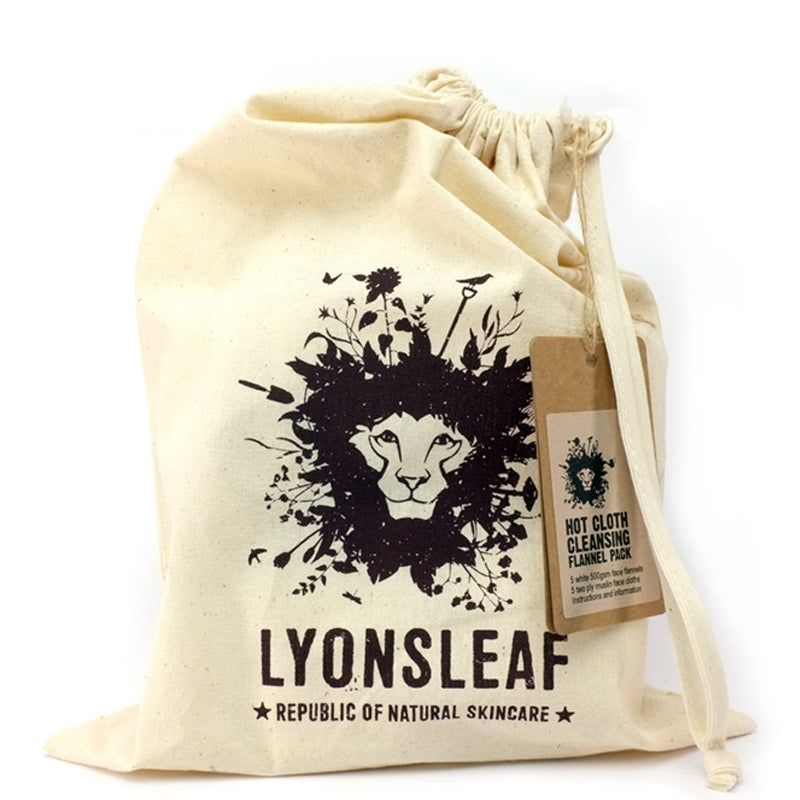 Lyonsleaf Hot Cloth Cleansing Flannel Pack