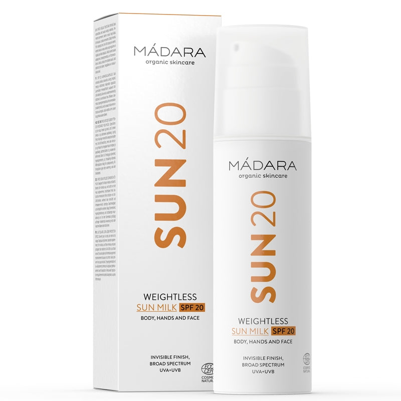 Madara Weightless Sun Milk SPF20