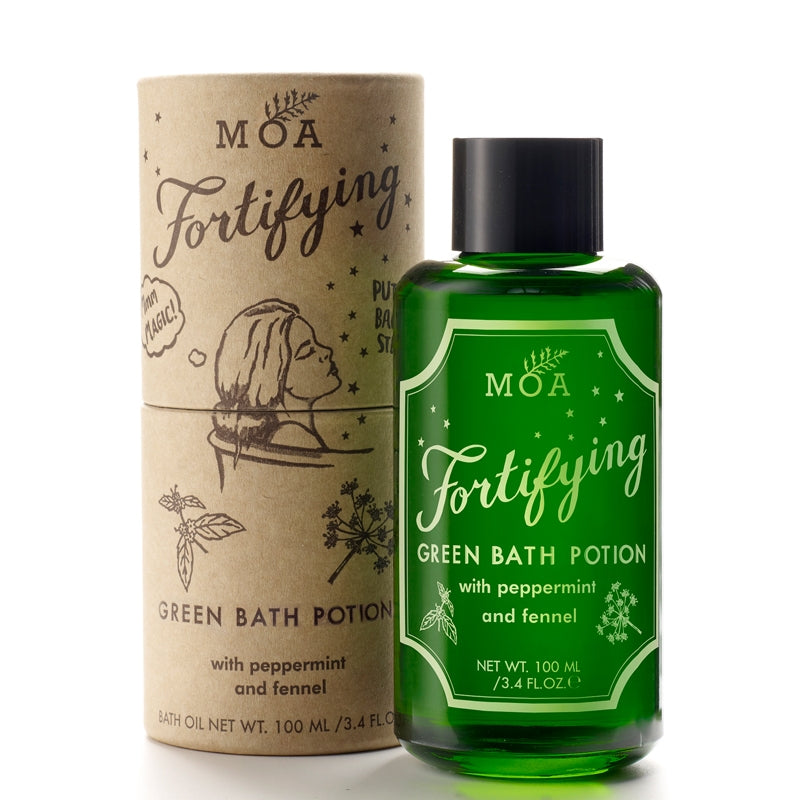 MOA Fortifying Green Bath Potion