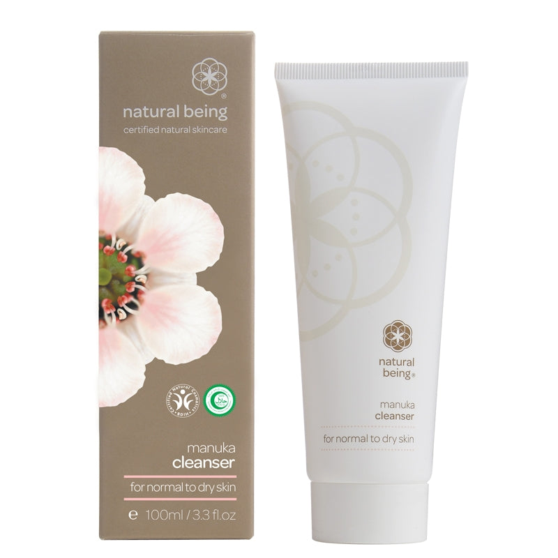 Natural Being Manuka Cleanser for Normal to Dry Skin