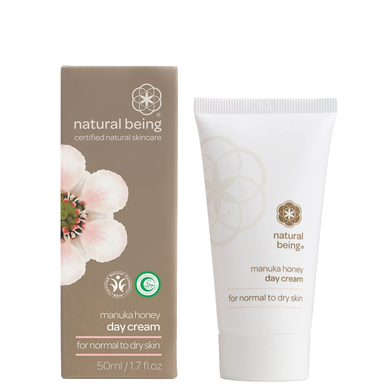 Natural Being Manuka Honey Day Cream for Normal to Dry Skin