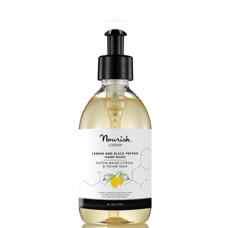 Nourish London Lemon and Black Pepper Hand Wash