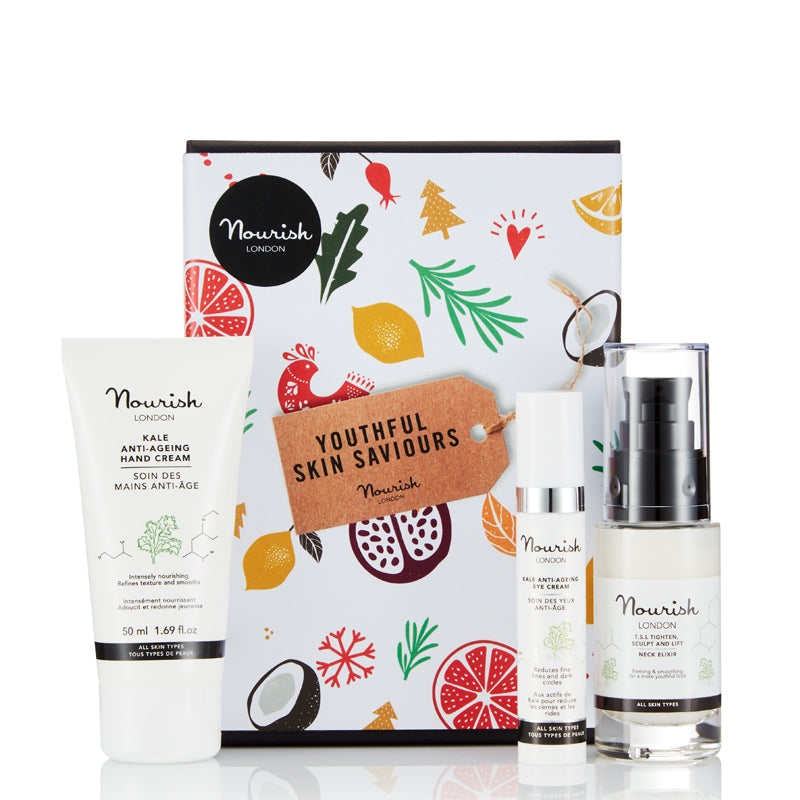 Nourish London Youthful Skin Saviours Set