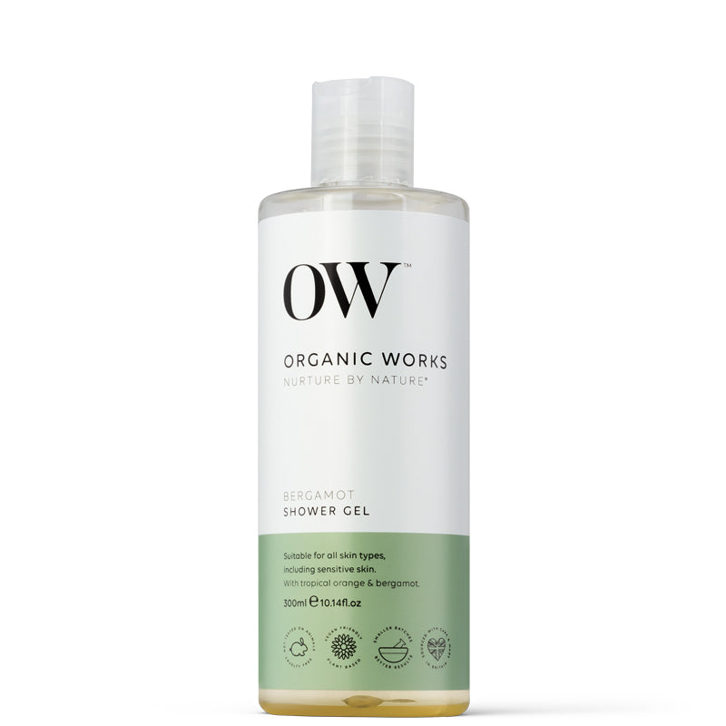 Organic Works Bergamot Shower Gel