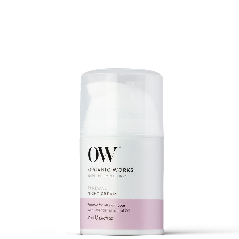 Organic Works Renewal Night Cream
