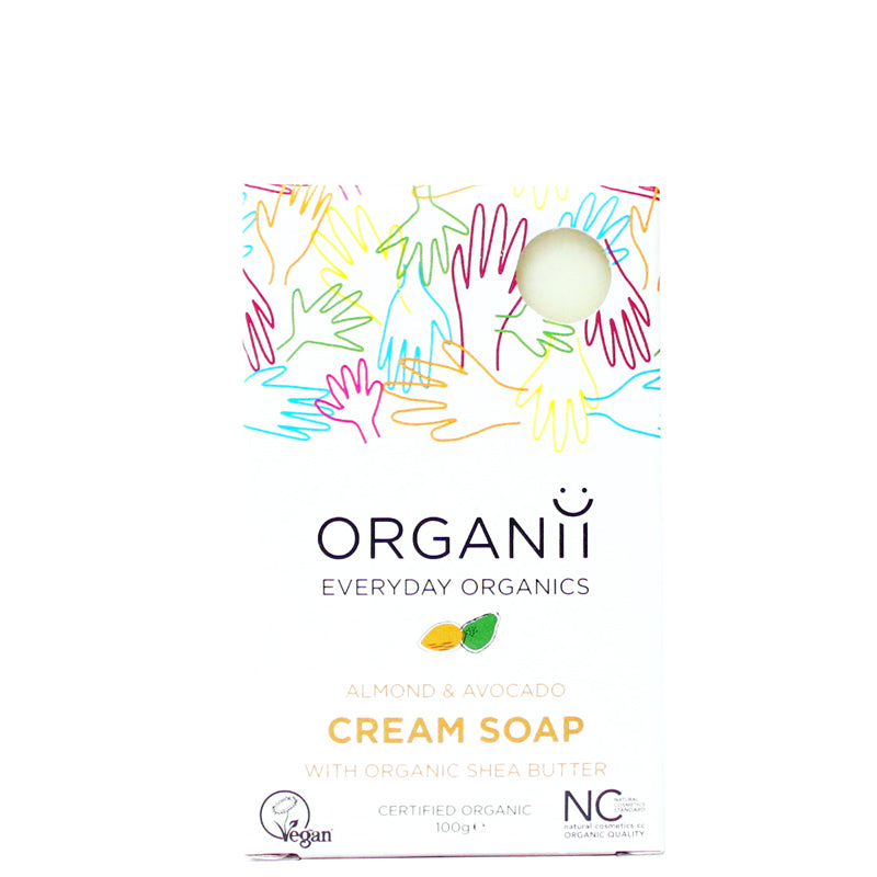 Organii Almond & Avocado Cream Soap