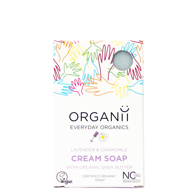 Organii Lavender & Chamomile Cream Soap Bar