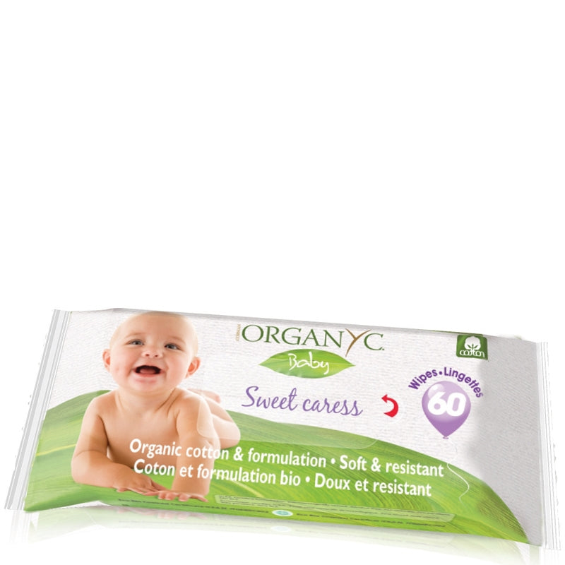 Organyc Organic Cotton Baby Wipes