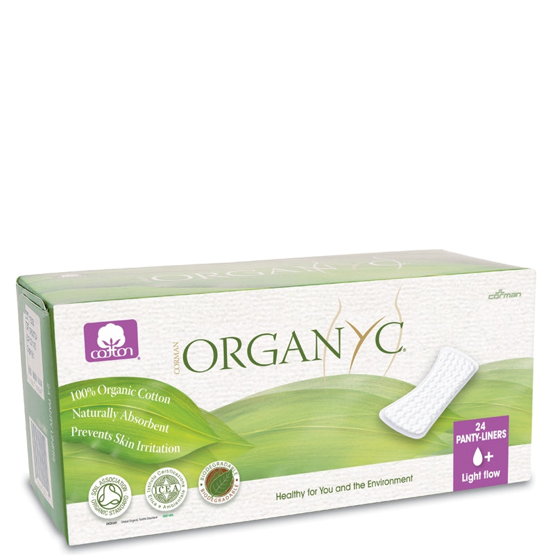Organyc Organic Cotton Panty Liners Light Flow