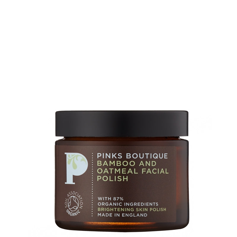 Pinks Boutique Bamboo & Oatmeal Facial Polish