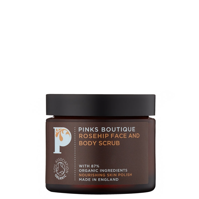 Pinks Boutique Rosehip Face & Body Scrub