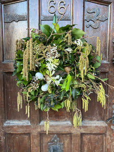 Spring Catkin Wreath